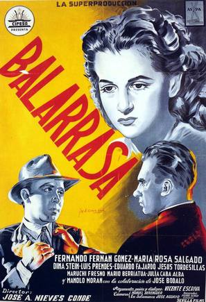 Balarrasa - Spanish Movie Poster (thumbnail)