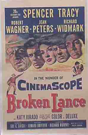 Broken Lance - Movie Poster (thumbnail)