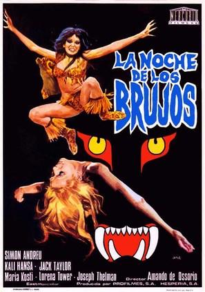 Noche de los brujos, La - Spanish Movie Poster (thumbnail)