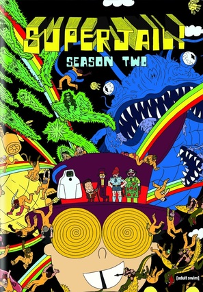"""Superjail!"" - DVD movie cover (thumbnail)"
