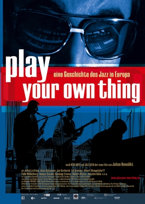 Play Your Own Thing: A Story of Jazz in Europe - German poster (thumbnail)
