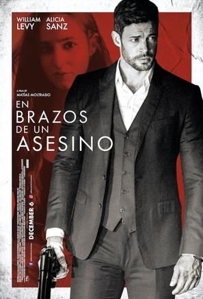 En Brazos de un Asesino - Panamanian Movie Poster (thumbnail)