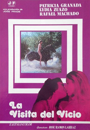 La visita del vicio - Spanish Movie Poster (thumbnail)