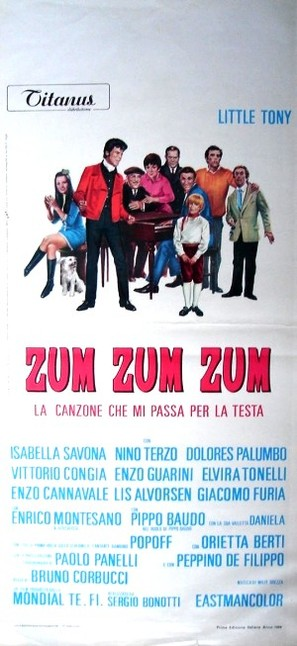 Zum zum zum - Italian Movie Poster (thumbnail)