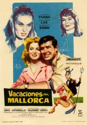 Brevi amori a Palma di Majorca - Spanish Movie Poster (thumbnail)