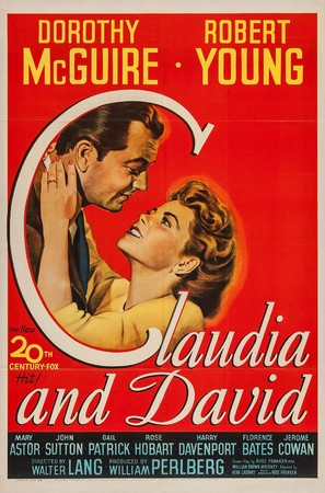 Claudia and David - Movie Poster (thumbnail)