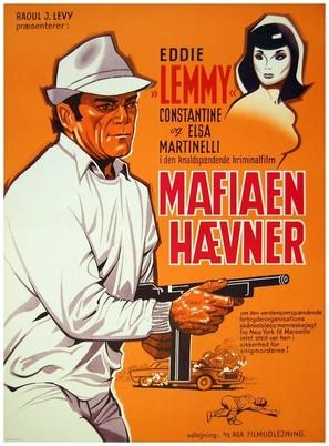 Je vous salue, mafia! - Danish Movie Poster (thumbnail)