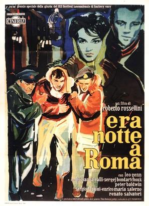 Era notte a Roma