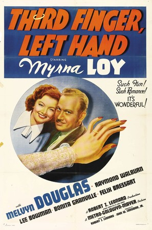 Third Finger, Left Hand - Movie Poster (thumbnail)