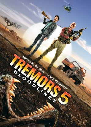 Tremors 5: Bloodlines - DVD movie cover (thumbnail)