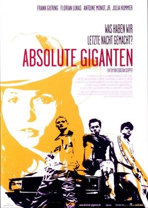 Absolute Giganten - German Movie Poster (thumbnail)