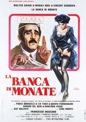 La banca di Monate - Italian Movie Poster (thumbnail)