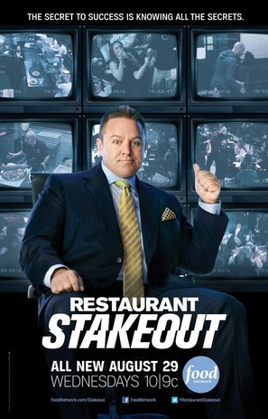 """""""Restaurant Stakeout"""" - Movie Poster (thumbnail)"""