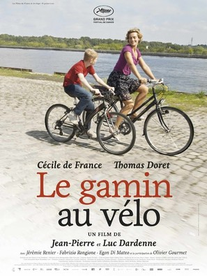 Le gamin au vélo - French Movie Poster (thumbnail)