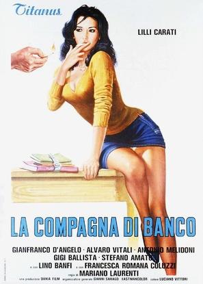 La compagna di banco - Italian Movie Poster (thumbnail)