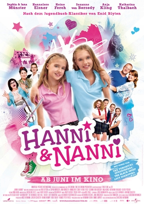Hanni & Nanni - German Movie Poster (thumbnail)