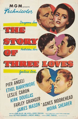 The Story of Three Loves - Movie Poster (thumbnail)