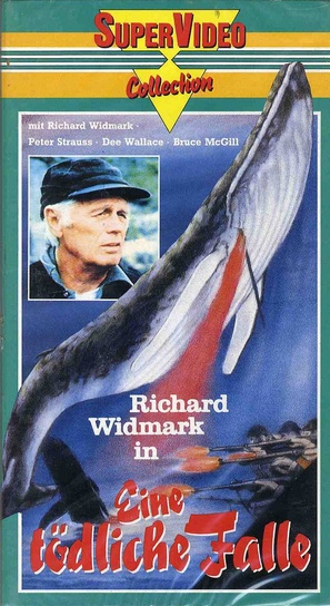 A Whale for the Killing - German VHS movie cover (thumbnail)