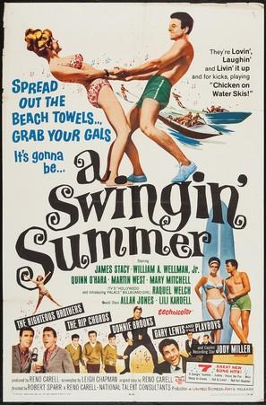 A Swingin' Summer - Movie Poster (thumbnail)