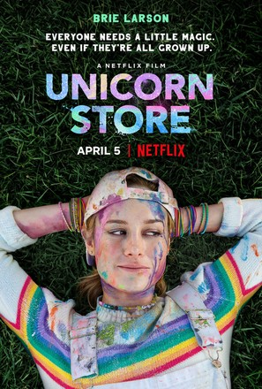 Unicorn Store - Movie Poster (thumbnail)