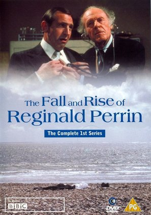 """""""The Fall and Rise of Reginald Perrin"""" - British DVD cover (thumbnail)"""