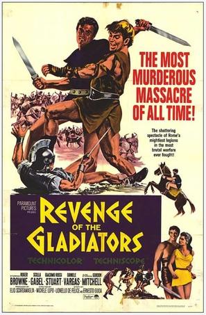 Vendetta dei gladiatori, La - Movie Poster (thumbnail)