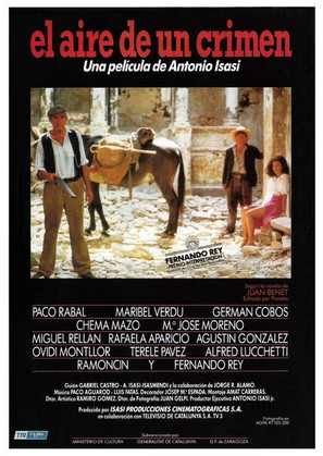 Aire de un crimen, El - Spanish Movie Poster (thumbnail)