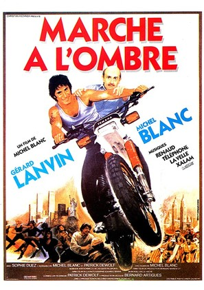 Marche à l'ombre - French Movie Poster (thumbnail)