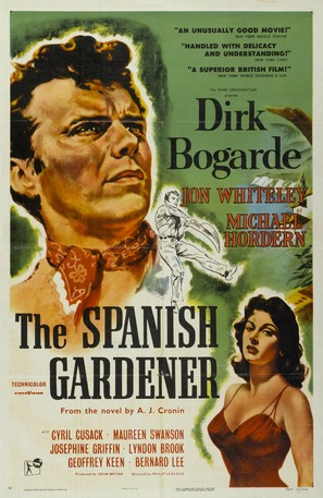 The Spanish Gardener - Movie Poster (thumbnail)