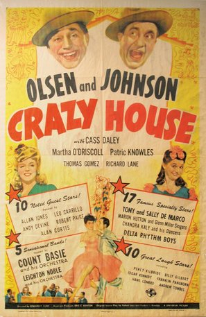 Crazy House - Movie Poster (thumbnail)