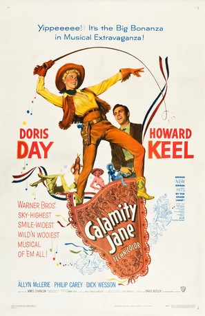 Calamity Jane - Movie Poster (thumbnail)