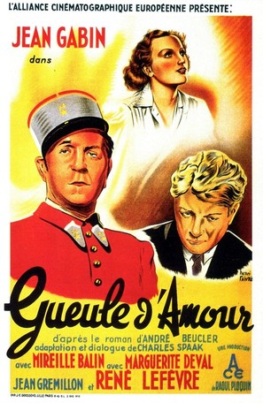 Gueule d'amour - French Movie Poster (thumbnail)