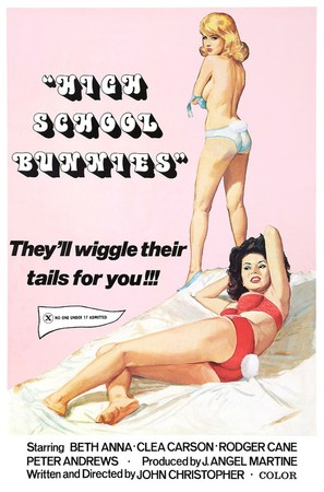 High School Bunnies - Movie Poster (thumbnail)