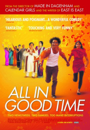 All in Good Time - Canadian Movie Poster (thumbnail)