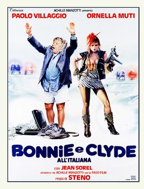 Bonnie e Clyde all'italiana - Italian Movie Poster (thumbnail)