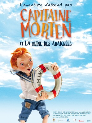 Captain Morten and the Spider Queen - French Movie Poster (thumbnail)
