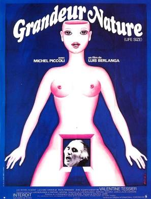 Grandeur nature - French Movie Poster (thumbnail)