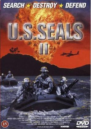 U.S. Seals II - Danish DVD cover (thumbnail)