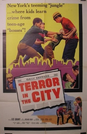 Terror in the City - Movie Poster (thumbnail)