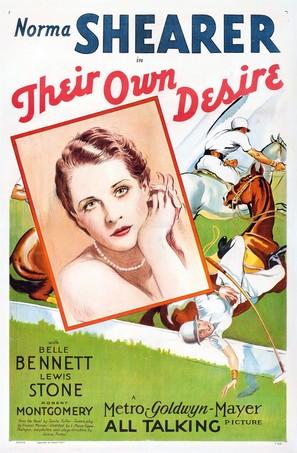 Their Own Desire - Movie Poster (thumbnail)