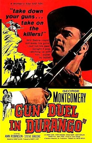 Gun Duel in Durango - Movie Poster (thumbnail)