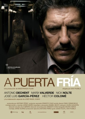 A puerta fría - Spanish Movie Poster (thumbnail)