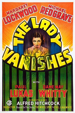 The Lady Vanishes - Theatrical movie poster (thumbnail)