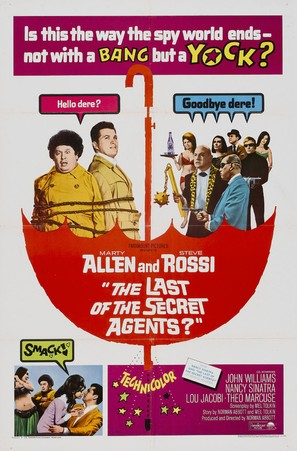 The Last of the Secret Agents? - Movie Poster (thumbnail)