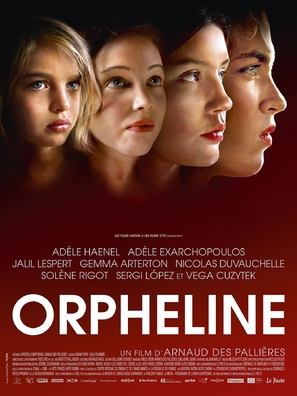 Orpheline - French Movie Poster (thumbnail)