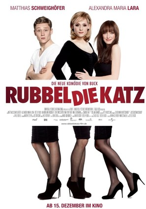 Rubbeldiekatz - German Movie Poster (thumbnail)