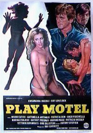 Play Motel - Italian Movie Poster (thumbnail)