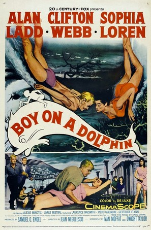 Boy on a Dolphin - Movie Poster (thumbnail)