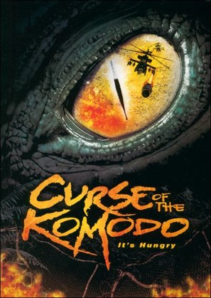 The Curse of the Komodo - DVD cover (thumbnail)