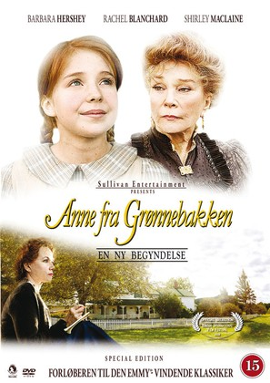 Anne of Green Gables: A New Beginning - Danish Movie Cover (thumbnail)